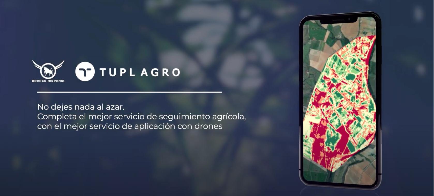 Tupl Agro y Drones Hispania juntos para mejorar la eficiencia agrícola