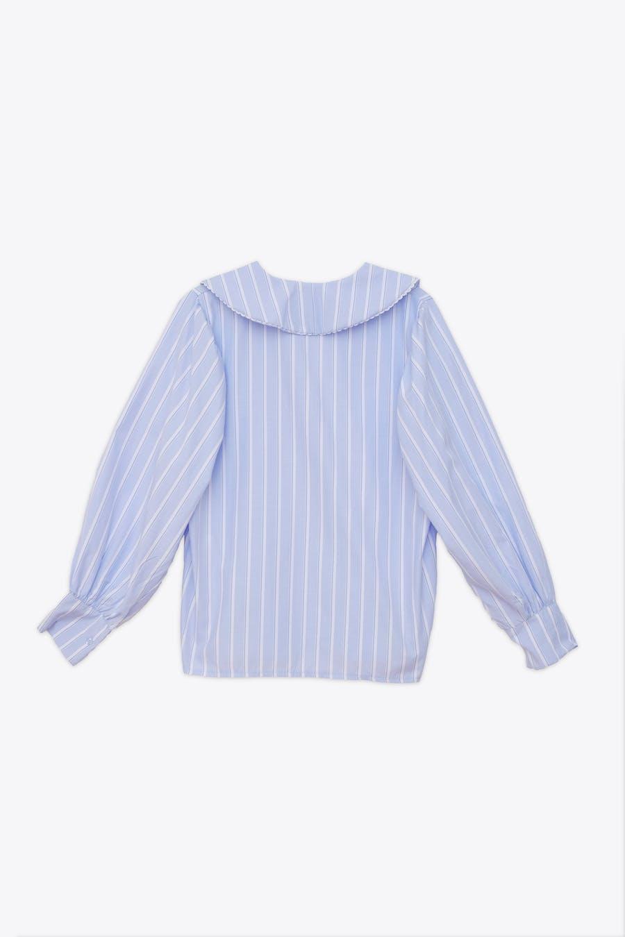 Camisa cuello bobo