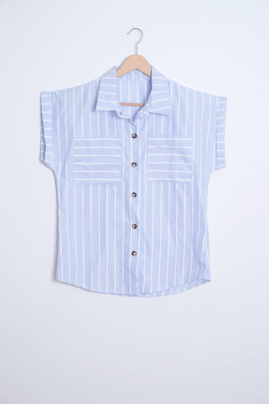 Camisa cassual rayas botones