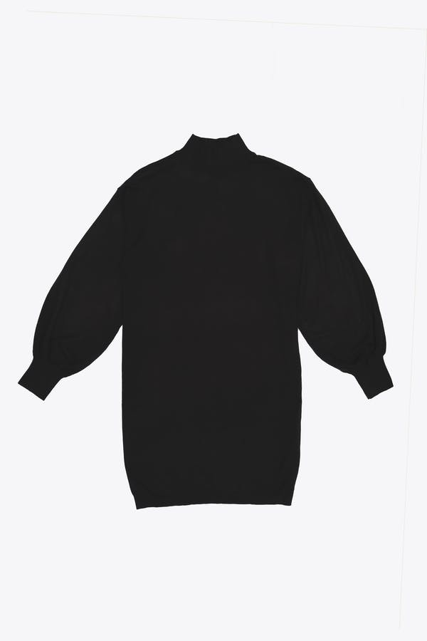 Vestido básico oversize