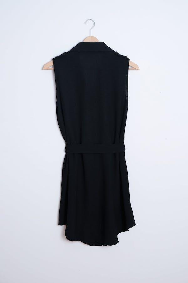Vestido cierre abotonado