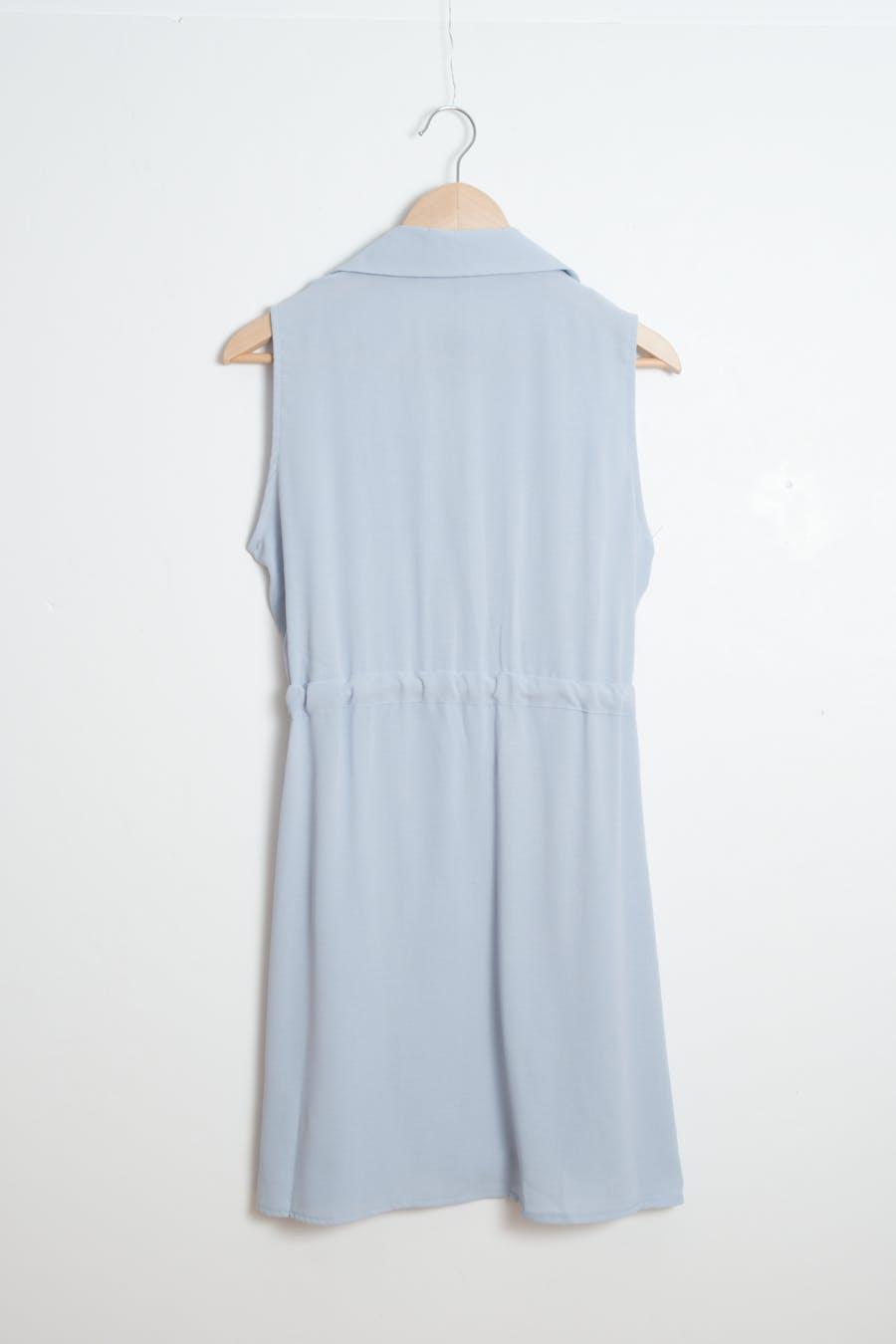 Vestido cintura frunce