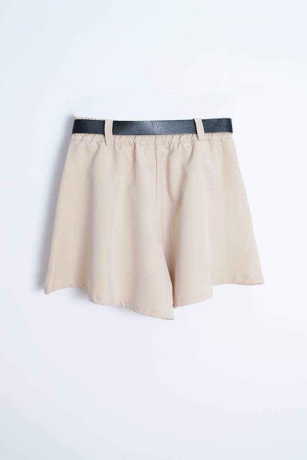 Short cinturón combinado