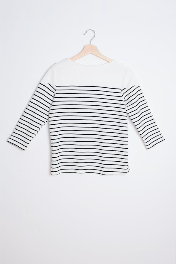 Camiseta raya marinera