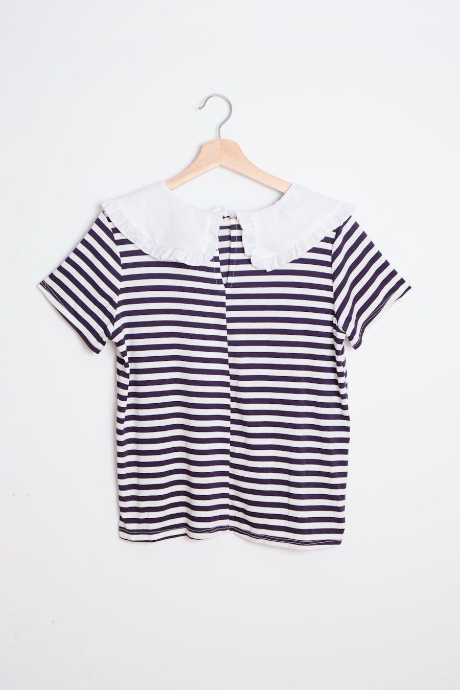Camiseta cuello bobo