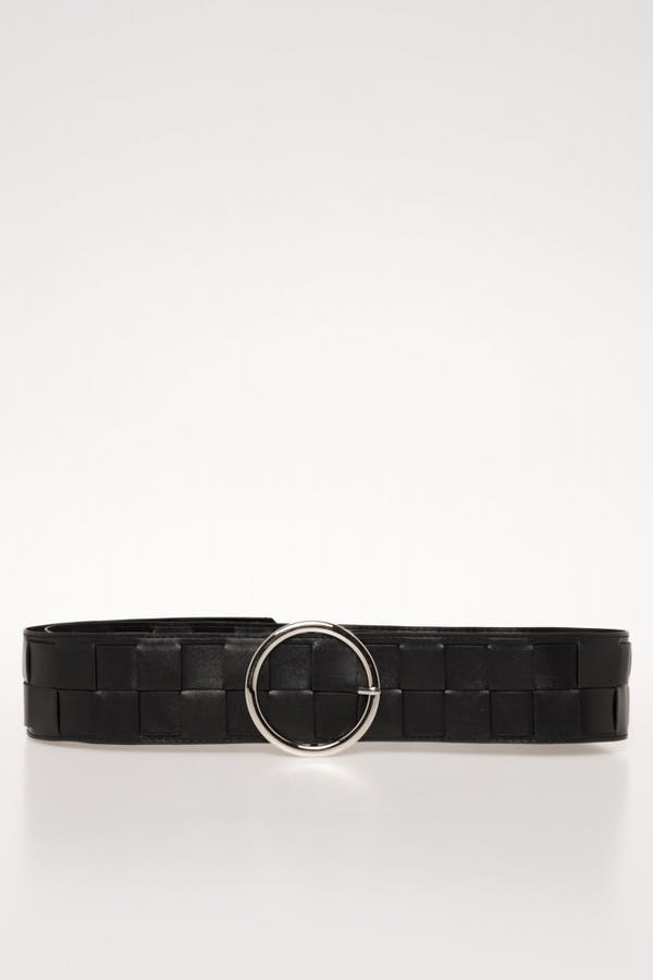 Cinturón Cassual trenzada Negro