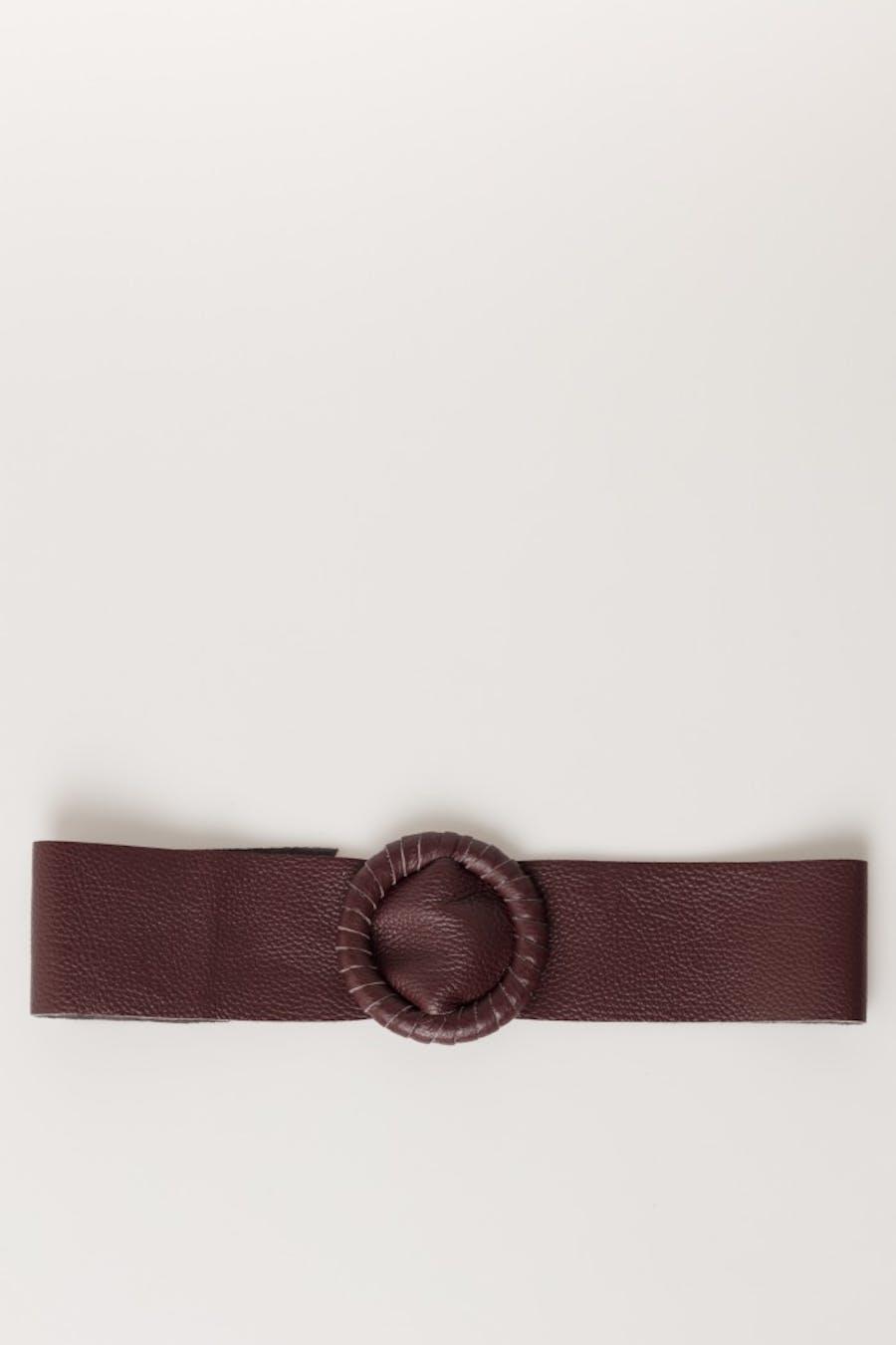Cinturón massima grazia piel Burdeos