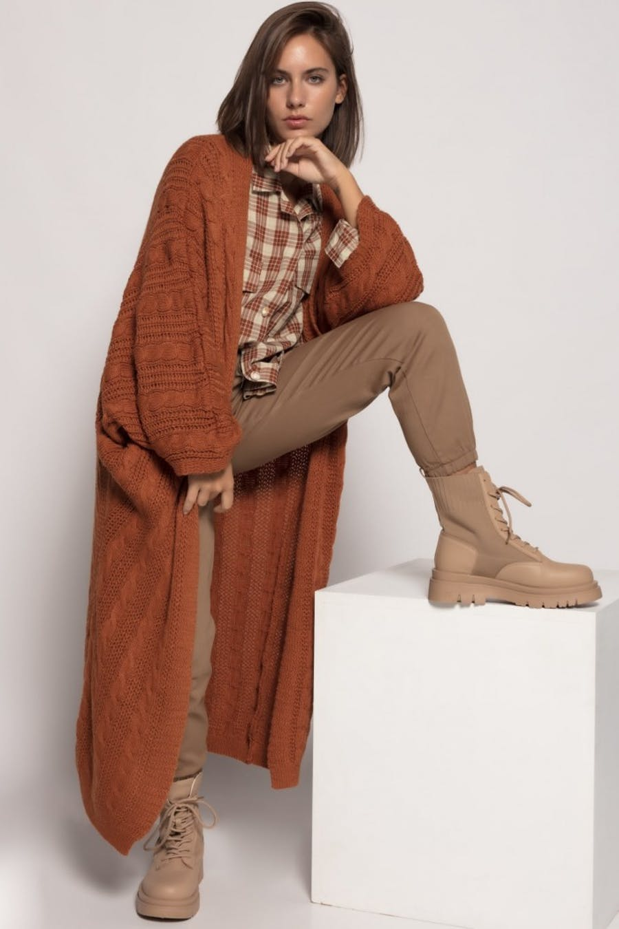 Kimono massima grazia punto ochos Camel