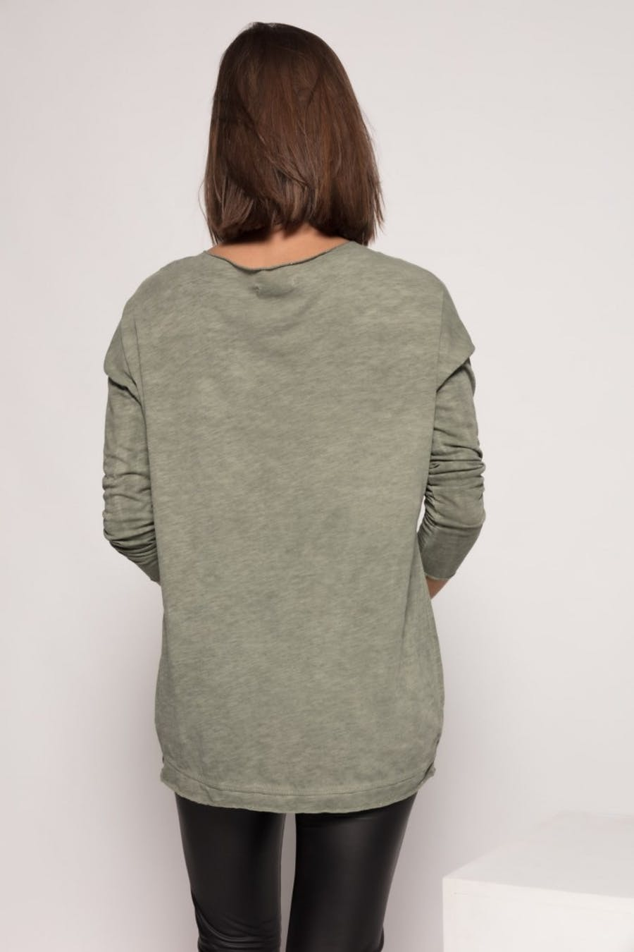 Camiseta massima grazia texto Verde