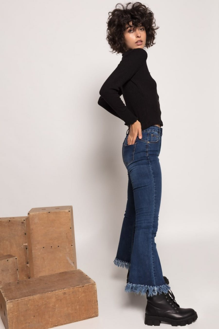Jeans Cassual flare