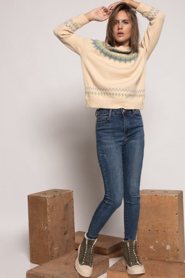 Jeans laulia extra high waist