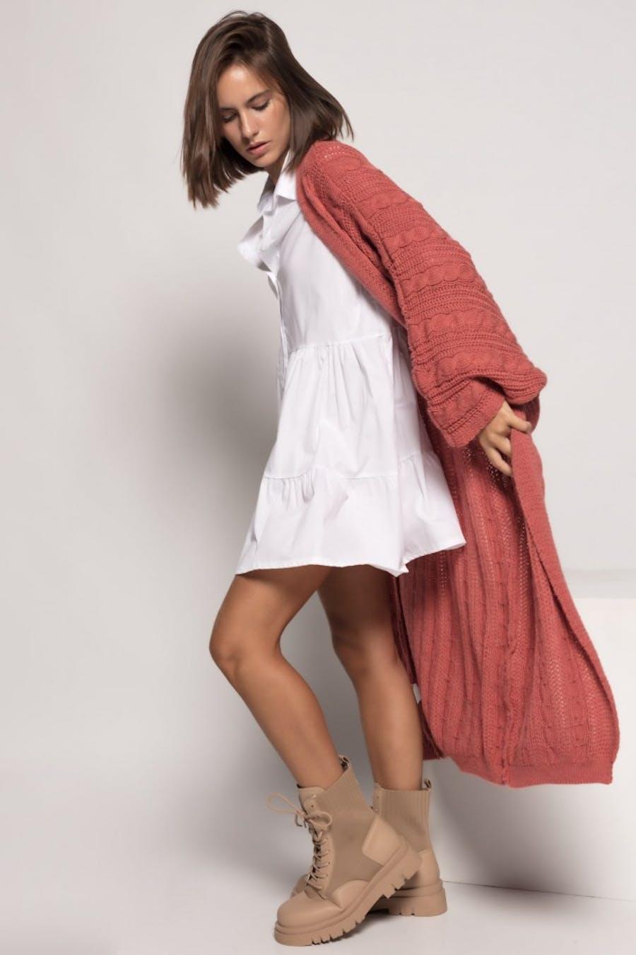 Kimono massima grazia punto ochos Rosa