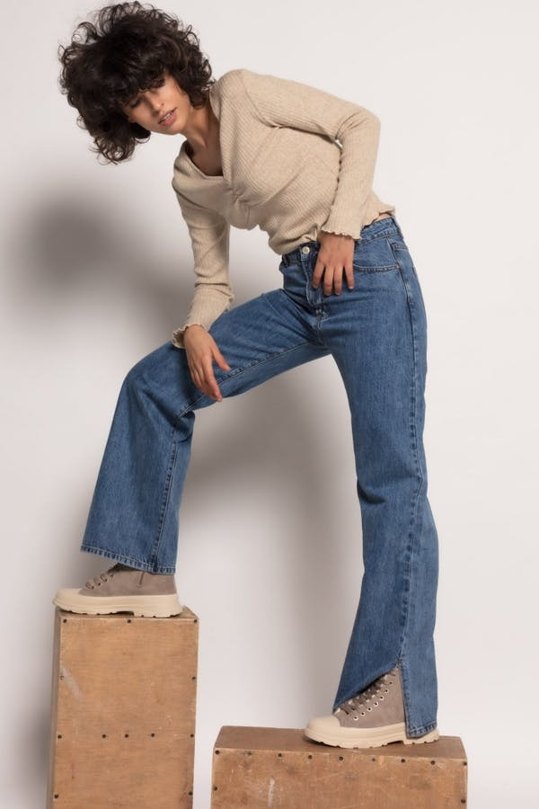 Jeans laulia wide leg