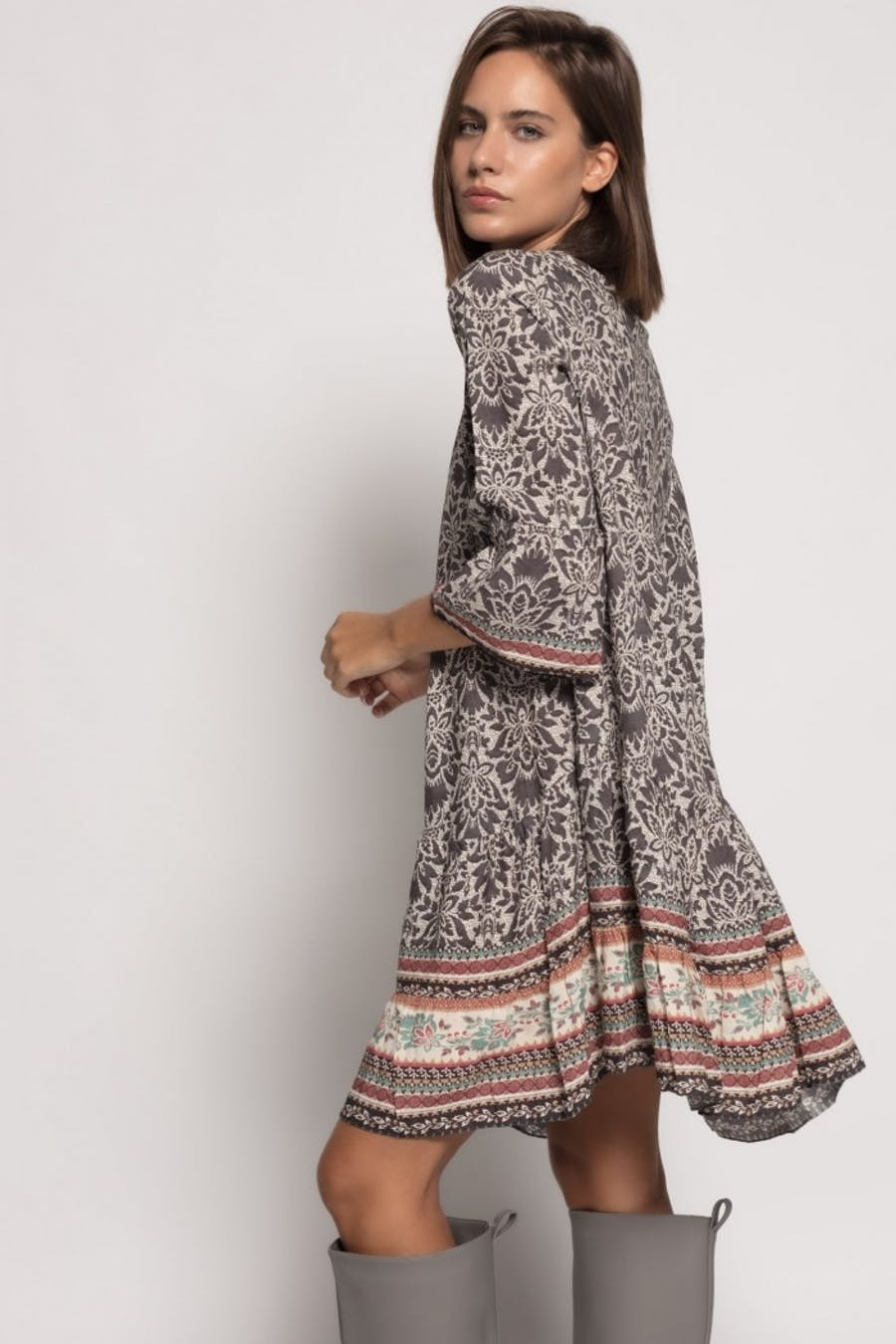 Vestido Cassual estampado