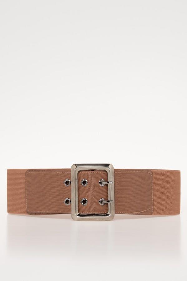 Cinturón Cassual elástico Camel
