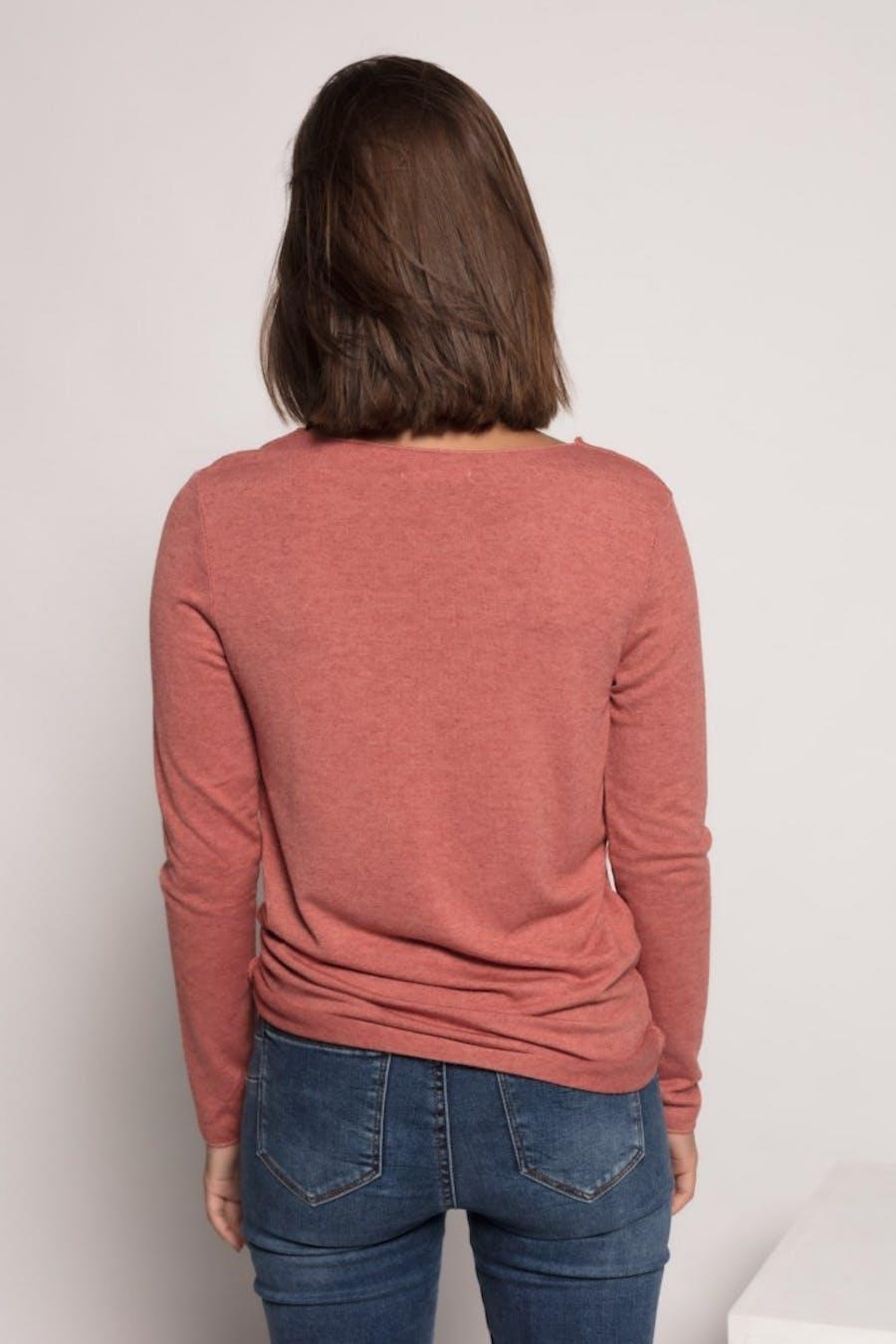 Camiseta massima grazia estampada Rosa