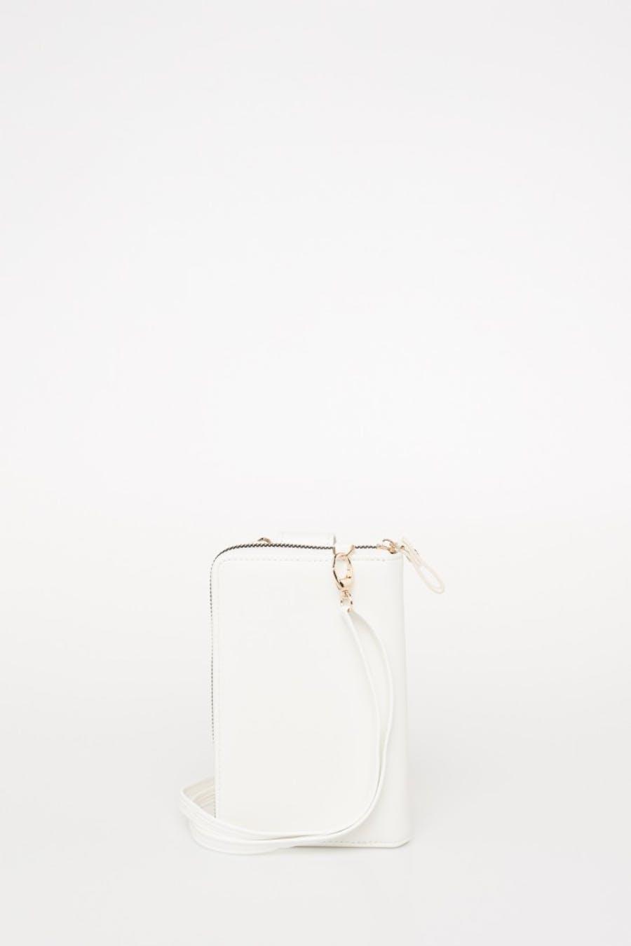 Cartera smartphone blanca