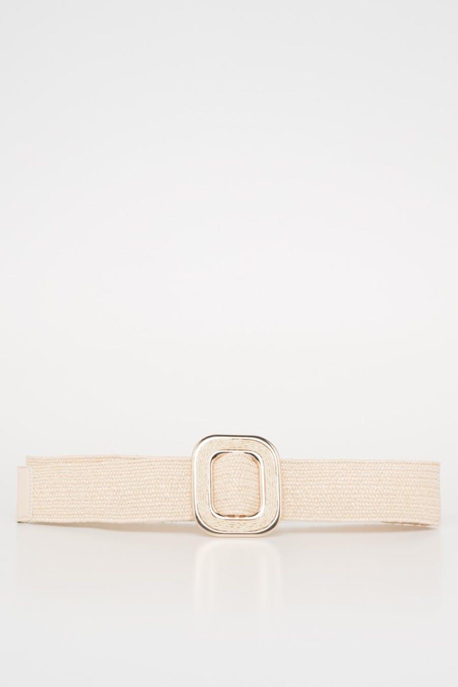 Cinturón detalle metalizado