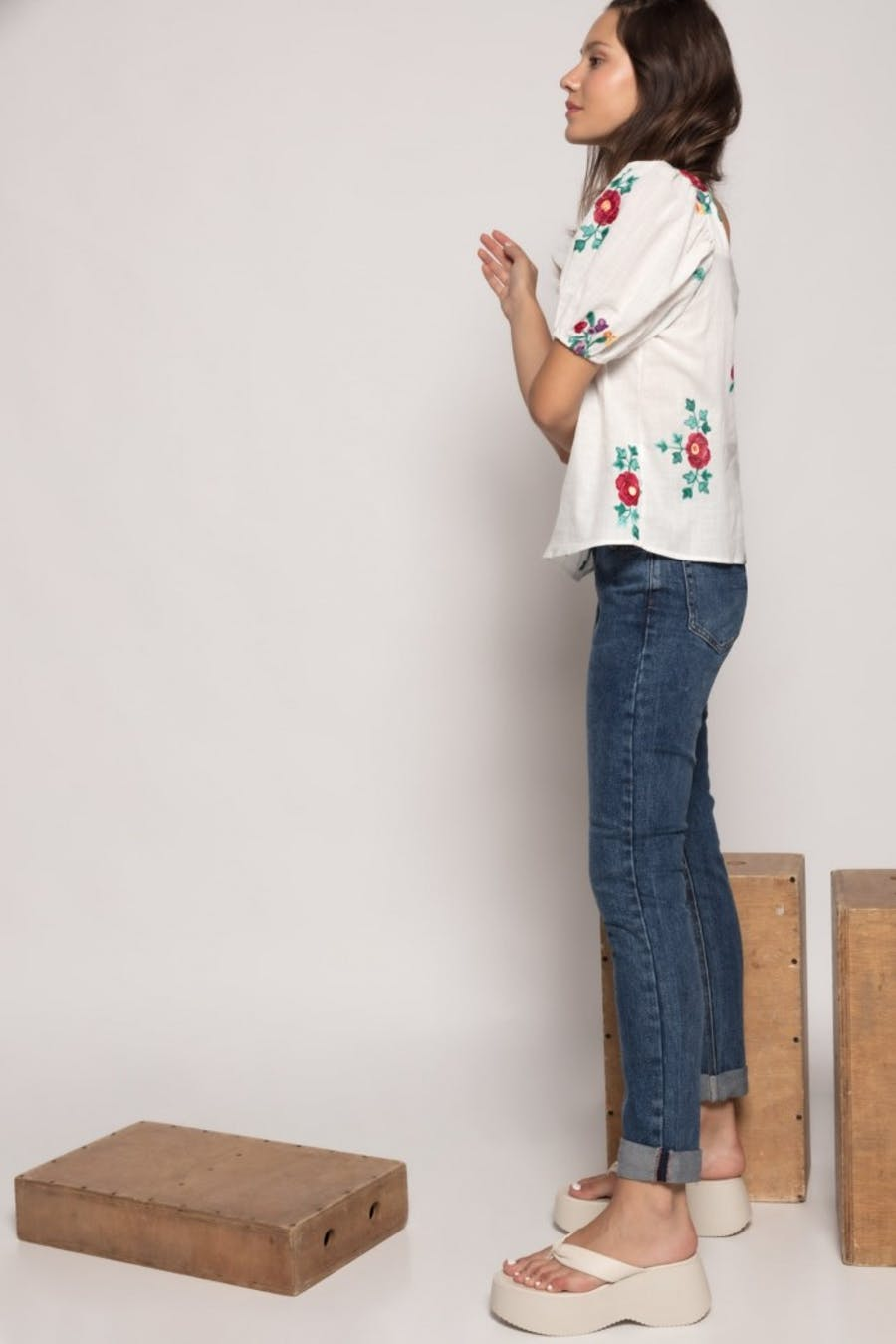 Jeans laulia straight