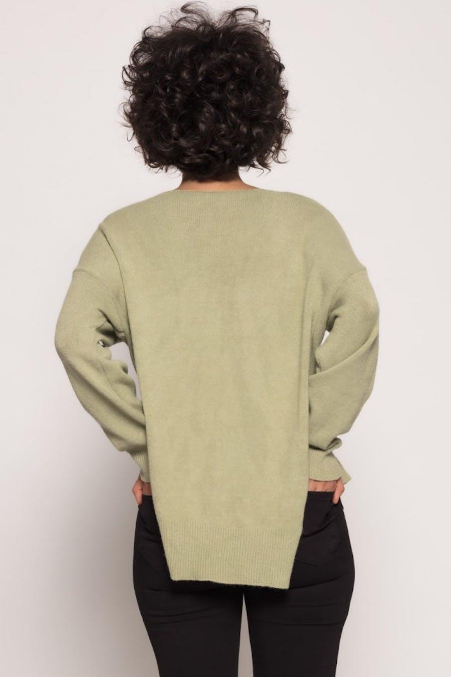 Jersey Cassual oversize punto Verde