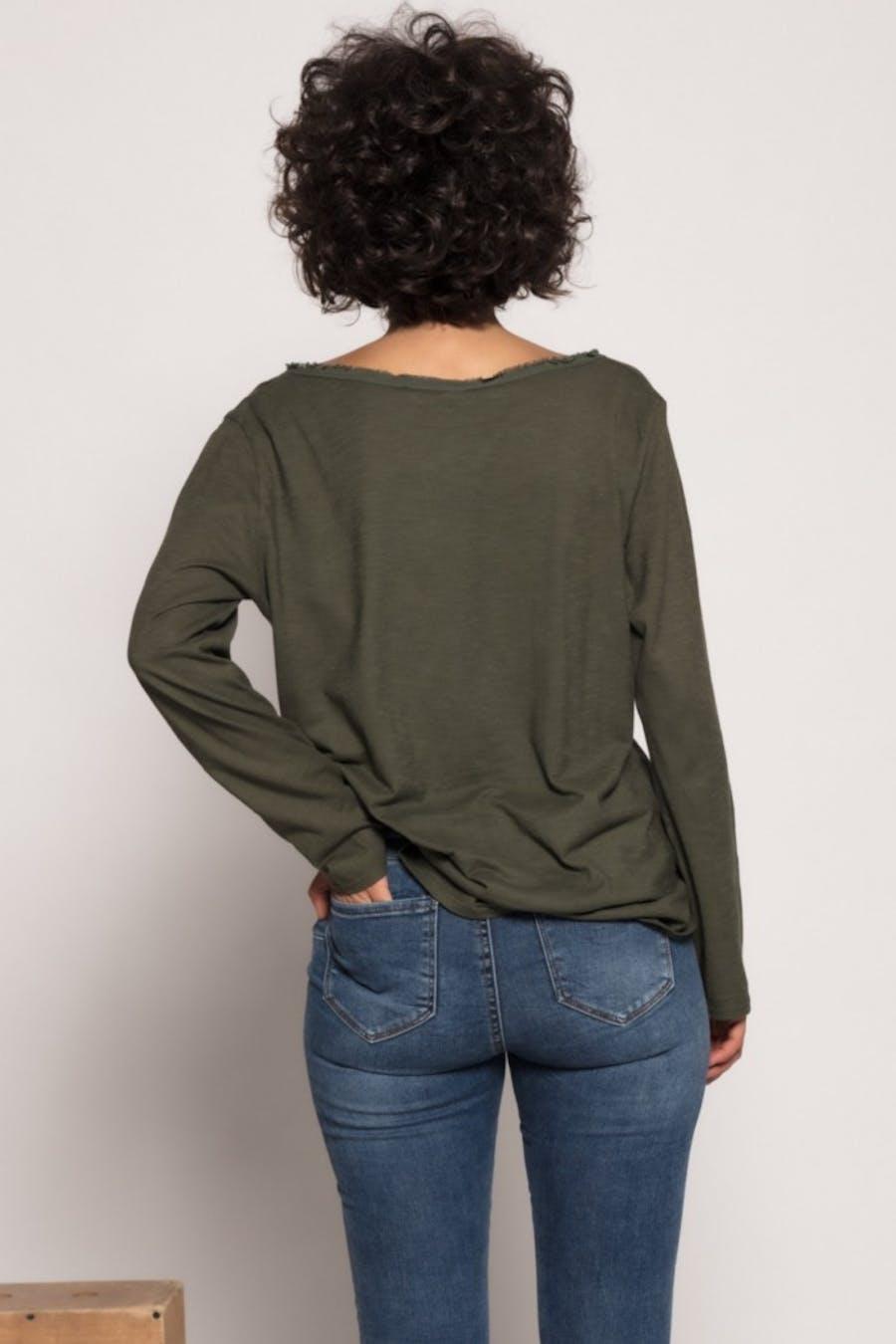 Camiseta massima grazia lavado Verde