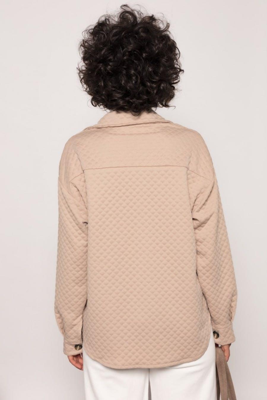 Sobrecamisa Cassual textura Camel