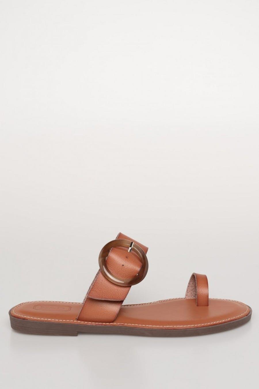 Sandalia plana dedo