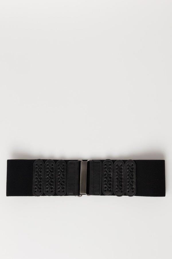 Cinturón Cassual elástico Negro