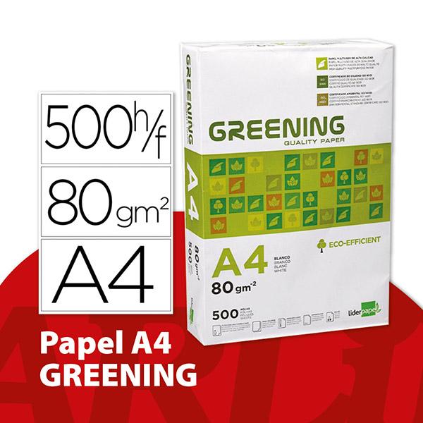 Papel A4 Greening