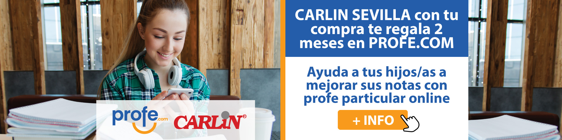 Promoción Carlin Sevilla & profe.com